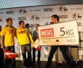 """Noskaidroti ekstrēmākie """"DIESEL"""" fani  un iepirkumu ratiņu rallija uzvarētāji"""