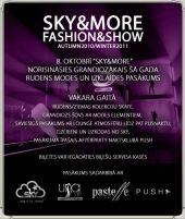 """""""Sky&More"""" rudens/ziemas sezonu  atklās ar krāšņu modes performanci"""