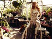 Nikola Kidmena: Harper`s Bazaar nimfa