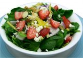 Strawberry-Spinach-Salad